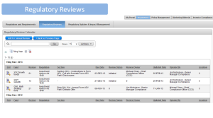 Regulatory Reviews