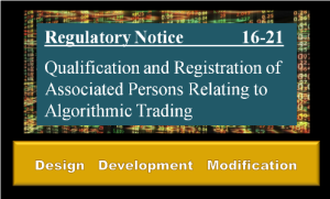 Regulatory Notice 16-21 Securities Trader